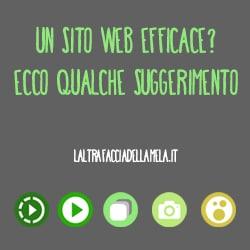 Un sito web efficace? Ecco qualche suggerimento