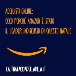 Acquisti online: ecco perché Amazon è stato il leader indiscusso di questo Natale