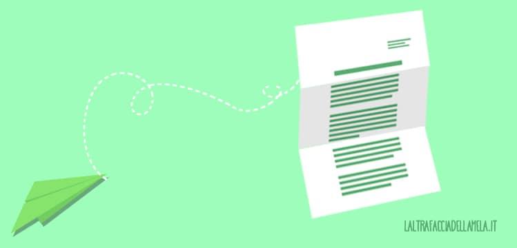 La grafica in una lettera: il mezzo con cui sarà veicolata