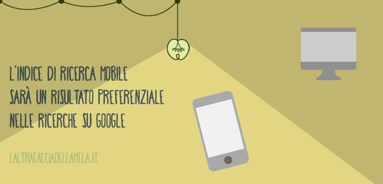 Indice di ricerca mobile
