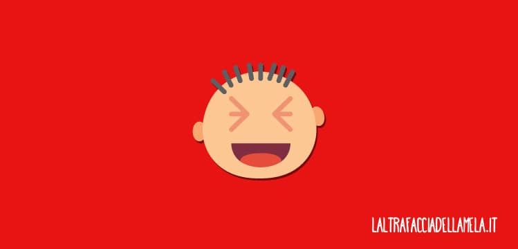 Il rosso comunica forza e divertimento