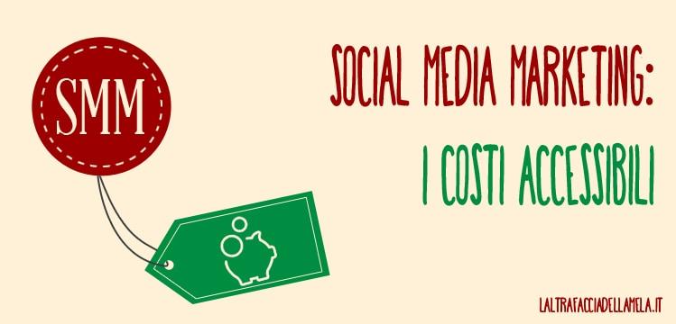 Social media marketing: i costi accessibili