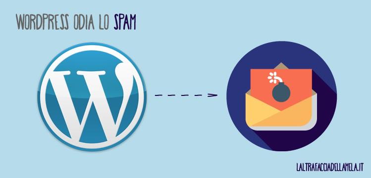 Perché usare WordPress? WordPress odia lo spam