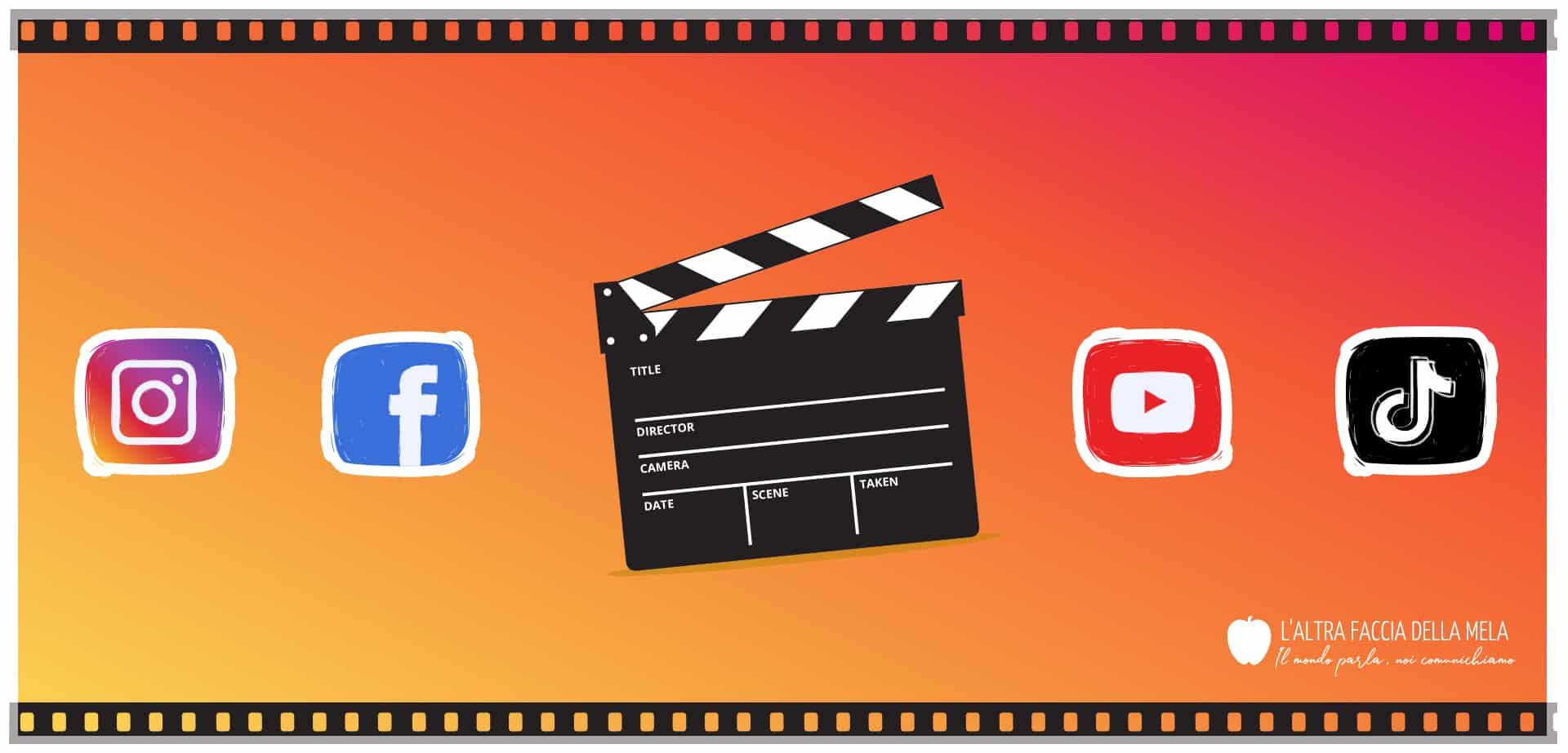Come fare video per Instagram, Facebook e altri social network