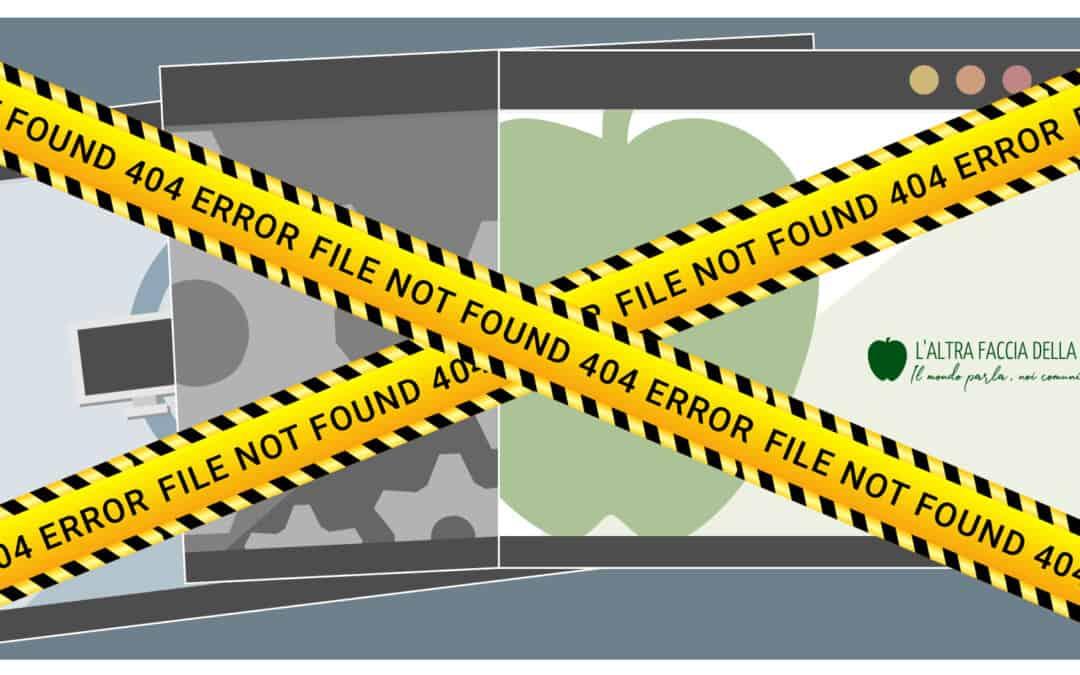 404 Not Found: come risolvere questo ed altri comuni errori di tipo 400