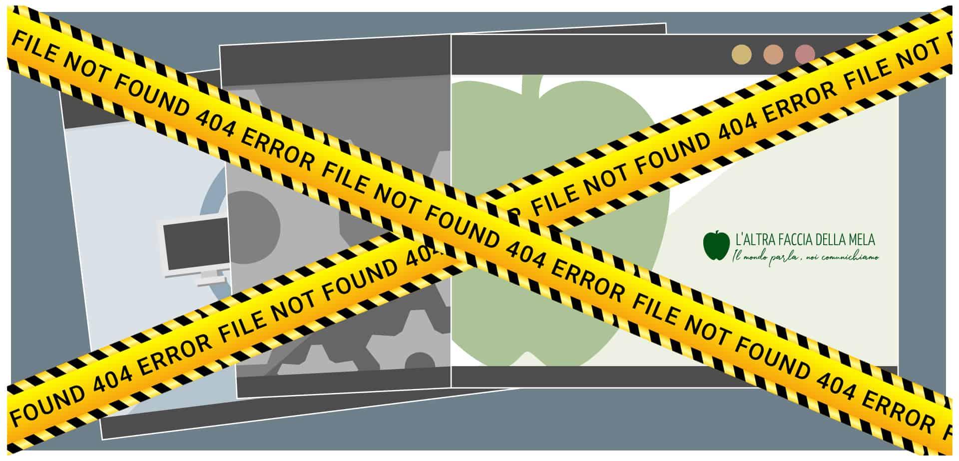 404 Not Found: come risolvere